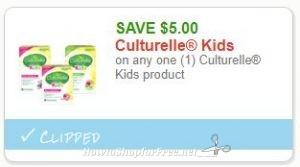 photograph regarding Culturelle Coupon Printable titled Contemporary Printable Coupon** $5.00/1 Culturelle Little ones merchandise How