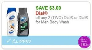 graphic regarding Printable Dial Coupons named Fresh Printable Coupon** $3.00/2 Dial or Dial for Males Human body