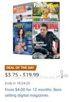 **Amazon Deal of the Day** Save Big on Digital Magazines!