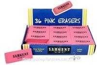 **Amazon BTS Deal** 36 Count Premium Pink Eraser ~ Less than 25¢ Per Eraser!!
