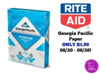 Georgia Pacific Paper ONLY $1.99 at Rite Aid 08/20 ~ 08/26!!