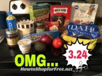 Have you tried the New Hannaford App? Look at Everything Nancy got for $3.24!!