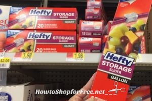 28¢ Hefty Slider Bags at Walmart!