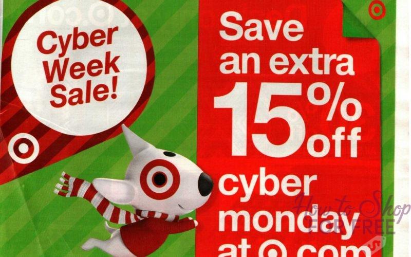 Target EARLY Ad + Cyber Week Peeks!!! (11/26-12/2)