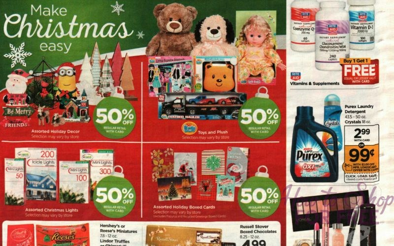 Rite Aid SUPER EARLY Ad Scan~ December 3-9