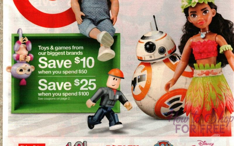ICYMI~ 12/10 Full-Size Early TARGET Ad!