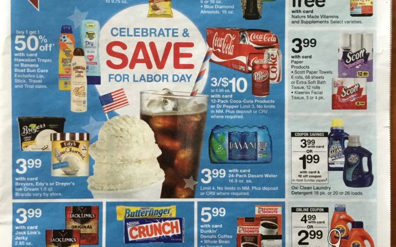 SAY WHAT!!!  Walgreen's Ad Scan 8/27 -9/2