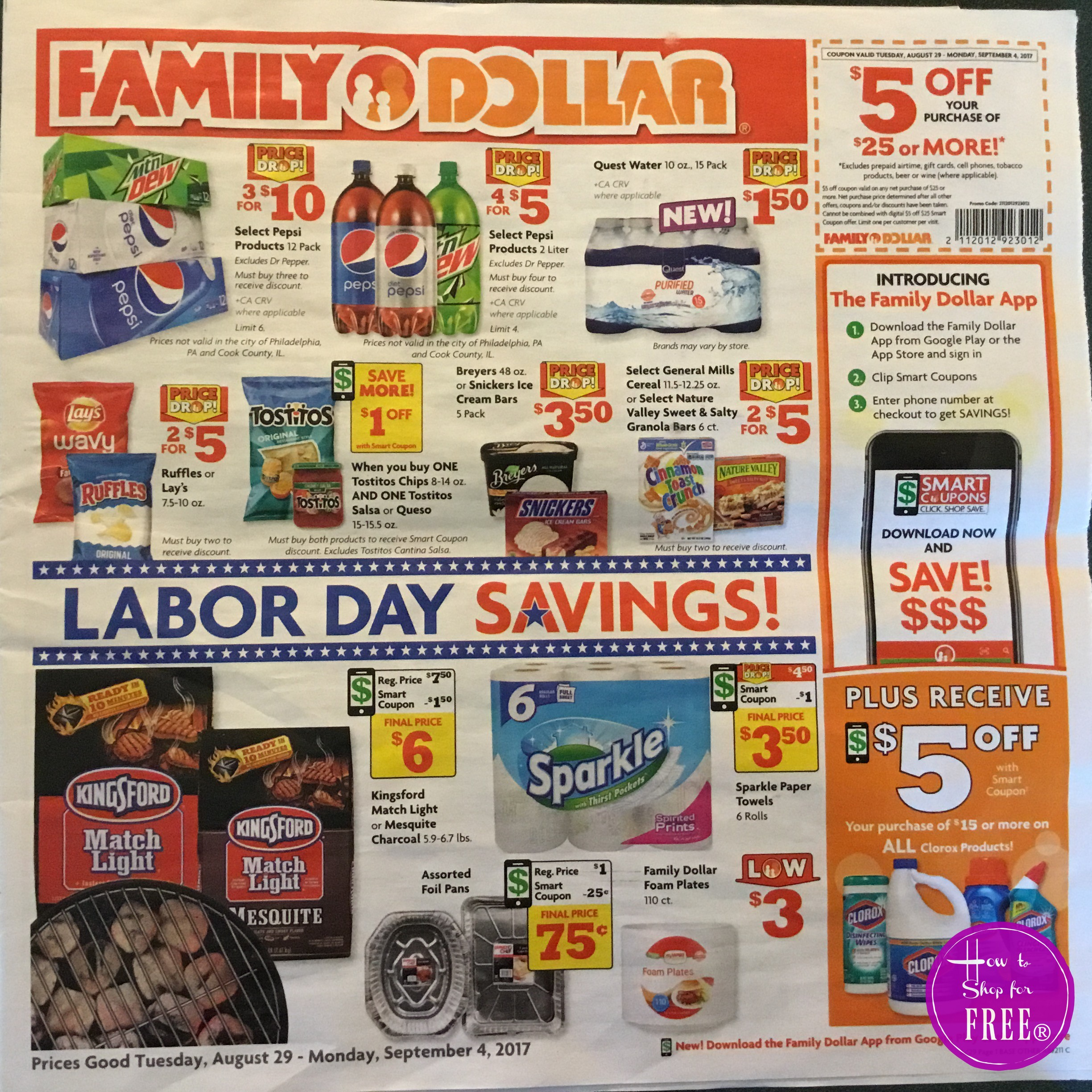 Family Dollar Ad Scan 8/29 – 9/4 | How to Shop For Free with