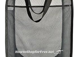 **Amazon Dorm Essentials** Deluxe Mesh Pop-Up Laundry Hamper ~ ONLY $7.99 – 3 Colors Available!