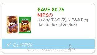 **NEW Printable Coupon** .75/2 NIPS Peg Bag or Box (3.25-4oz)