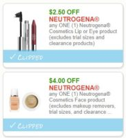 **NEW Printable Coupons** 2 Neutrogena Coupons Pre-Clipped for You!