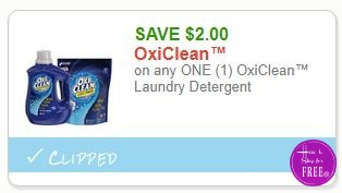 **HOT**NEW Printable Coupons** $2.00/1 OxiClean™ Laundry Detergent