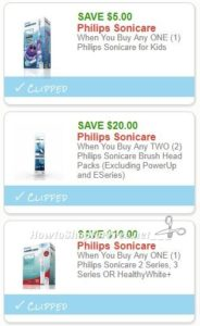 New Printable Coupons 3 Philips Sonicare Coupons Pre