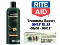 Tresemme Expert ONLY $1.25 at Rite Aid 08/06 ~ 08/12!