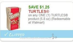 **NEW Printable Coupon** $1.25/1 TURTLES product (5.8 oz)