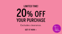Rare 20% off VS Purchase Coupon!