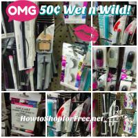 50¢ Wet n Wild Makeup at Dollar Tree!!!