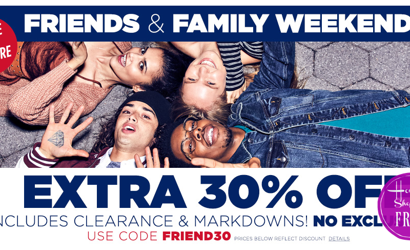 WOW Extra 30% OFF Aéropostale Sale+Clearance!!!