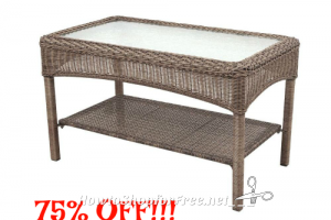 WOWZER 75% OFF Martha Stewart Patio Coffee Table!!!