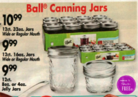 12ct. Ball Canning Jars as low as $6.99 at OSJL!