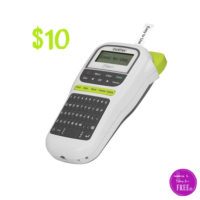 $10 Brother® P-Touch Label Maker!! ($25 OFF)