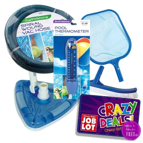 67% OFF Pool Accessories after Crazy Deal GC!