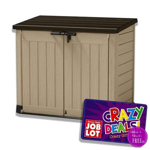 $110 Keter Store-It-Out-Max Shed!