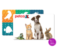 Shop for FREE for Fido! $30/$30 Petco Offer!!