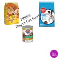 RUN!!!  FREE Cat and Dog Food!!!!