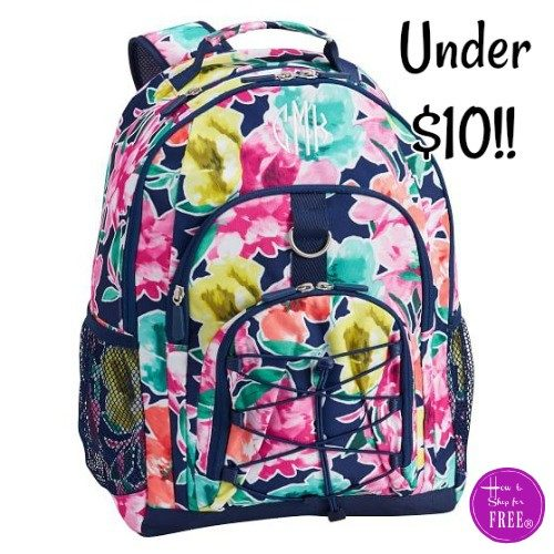 RUN~ Oversized Floral Backpack 81% OFF!!!