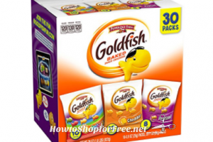 Goldfish Snacks only 30¢ each!