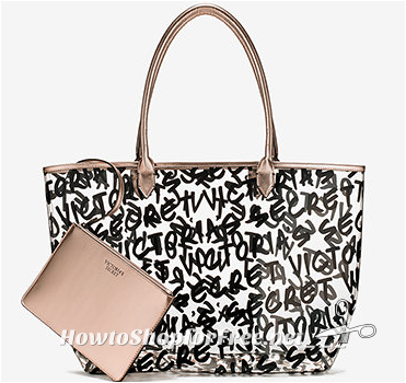 FREE Victoria's Secret Graffiti Tote