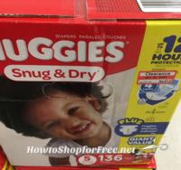 Huggies Diaper Clearance at Target!!
