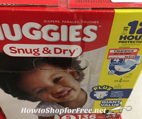Huggies Diaper Clearance at Target!!