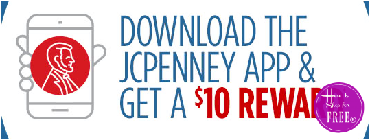 FREE 10 Bucks when you get teh JCP App