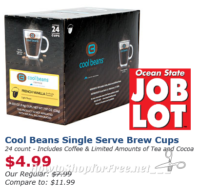 24ct. K-Cups for $5 at Job Lot!! ~Insider Exclusive