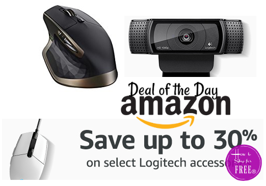 Up to 30% off Logitech PC Accessories ~Deal of the Day