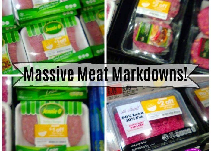 Target Meat Markdowns ~ Ground Turkey & Beef Aplenty!!