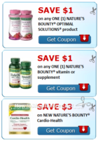 $5 in NATURE'S BOUNTY® Coupons to Print! *NEW*
