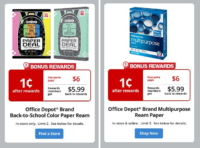 NEW Penny Paper Deals @ Office Depot! (thru 8/20)