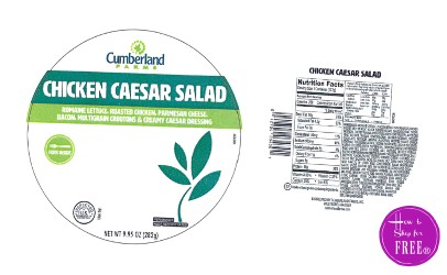 Cumberland Farms Chicken Salad RECALL in New England