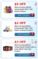 $10 in NEW Schwarzkopf® Savings!!