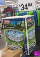 22′ Coleman Swimming Pool under $35!!