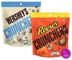 FREE Hershey's & Reese's Crunchers Samples at Walmart!