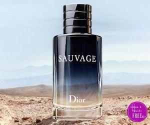 """Grab a FREE Sample of Dior """"Sauvage"""" Fragrance! J'adore!"""