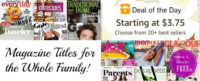 20+ Best Selling Print Magazines starting at $3.75/year!