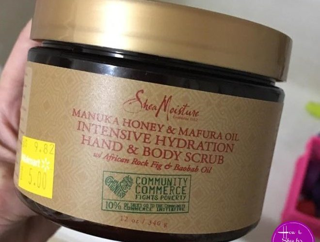 Wow, SheaMoisture Scrub for $3!!
