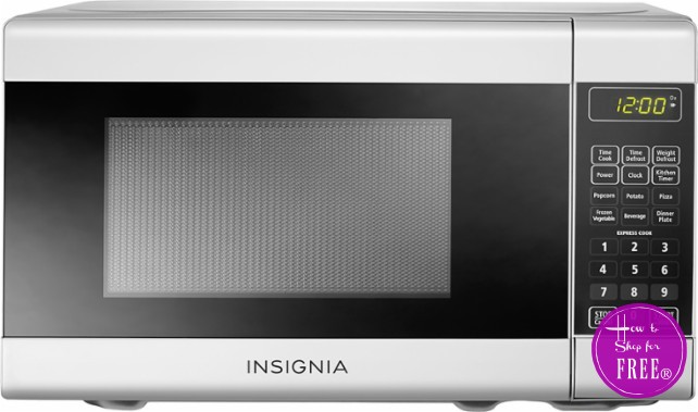 $35 Insignia™ Compact Microwave! Today Only~ 50% OFF!