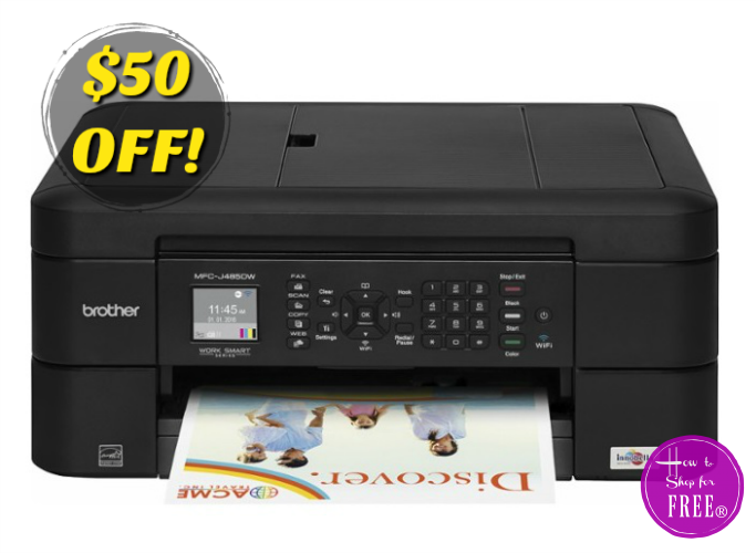 Grab a Brother Wireless Printer for $40, Today Only!!