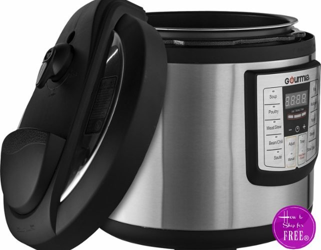 50% OFF 6-Quart Pressure Cooker, Today Only!